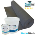 RUBBER ROOFING KIT FOR FLAT ROOFS, INCLUDES 1.2mm EPDM MEMBRANE AND ADHESIVES