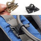 2/5 pcs Backpack Drinking Tube Clip MOLLE Webbing Clamp 360 Rotation Pipe Buckle