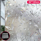 Premium 3D Reflective Decorative Etched Glass Frosted Vinyl Privacy Window Film <br/> Fast&amp;Free Post✔90x200cm,90x100cm,90x50cm✔Have a gift