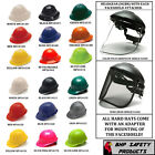 PYRAMEX HARD HAT/HEADGEAR WITH FACESHIELD AND ADAPTOR CHOOSE YOUR COMBONATION