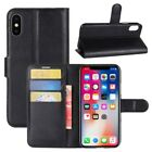 Multi-Function Phone Case Wallet Card Holder Leather Cover For Samsung iPhone US
