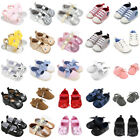 Newborn to 18M Baby Boys Girls Soft Sole Crib Shoes Sneaker