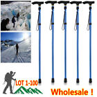 Wholesale Aluminum Walking Stick Easy Adjustable Folding Collapsible Travel Cane