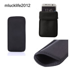 Elastic Neoprene Protective Pouch Bag Sleeve Case Cover phone case For HTC