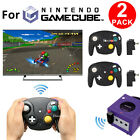 1x/2x 2.4G Wireless Controller Console for Nintendo GameCube NGC Wii + Receiver