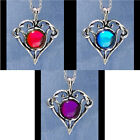 Elven Heart Necklaces Pewter Valentines Fellowship Foundry US Made