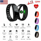 QS80 Smart Watch Bluetooth Wristband W/Heart Rate Sleep Health Monitor Calorie