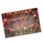 Two Stranger Things ABC Christmas Lights Posters 11x17 or 24x36 Inch Size
