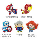 Hallmark Marvel Comics Decoupage Kawaii Christmas Ornaments!