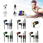 1m/3.3ft Metal In-Ear Earphone 3.5mm Subwoofer Stereo Earpiece Headset Headphone