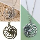Game of Thrones Daenerys Targaryen Dragon Necklace Pendant Chain Jewelry Gift