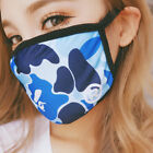 ayo and teo Shark Bape Tokyo Ghoul Black Unisex Panda Dust Face Mask Pikachu