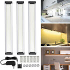 led cabinet lights dimmable - 3pcs LED Light Bar Under Cabinet Lighting Kitchen Counter Lamp Hand Dimmable Kit