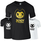 BENDY AND THE INK MACHINE Game Youtube Gamer Gaming Tshirt Tee Top Adults Kids
