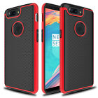 For OnePlus 5T Phone Case Luxury Shockproof Rubber Hybrid Hard Slim Back Cover