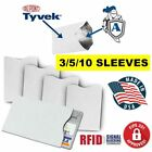 Kyпить RFID Blocking Credit Card Protective (DuPont TYVEK) Sleeves for Men's Wallet на еВаy.соm