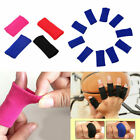 10Pcs Finger Protector Sleeve Support Basketball Sports Aid Arthritis Band Wraps on eBay