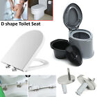 Luxury Toilet Seat Soft Close Quick Release Child Family | TOP or BOTTOM Hinges
