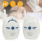 Portable Wireless 2.4GHz Digital Two-Way Audio Baby Monitor Voice Transmission