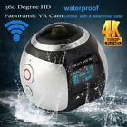 WIFI 4K 360 Full HD Ultra Panoramic Sport Camera Action Dash Cam VR Camera OY