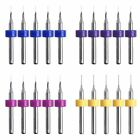 10x Extruder Nozzle Cleaning Tool Drill Bits Kits Cleaner Needle For 3D Printer