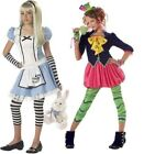the mad hatter tween costume - Alice or The Mad Hatter Alice in Wonderland Tween Girls Costumes New