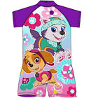 Kids Girls Paw Patrol Swimsuit Swimwear Sun Suit Swimming Costume Sun Protection