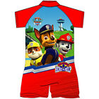 Kids Boys Paw Patrol Swimsuit Swimwear Sun Suit Swimming Costume Sun Protection