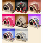 Washable Soft Warm Pet Dog Cat Bed Basket House Kennel Mat Pad Puppy Cushion New