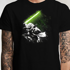 Star Wars Yoda Jedi Master Lightsaber T Shirt (S-5XL) Luke Vader Skywalker $14.99 USD on eBay