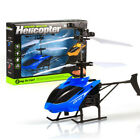 US  Mini Drone Flying Helicopter Infrared Induction Flashing Light Toys For Kids