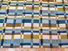 Discount Fabric Richloom Upholstery Drapery Prodigy Surf Chenille Plaid 22RR