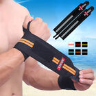 1 Pair/2x Sport Gym Hand Wrist Brace Support Weight Lifting Strap Wrap Wristband $8.54 USD on eBay