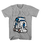 Star Wars Boys Youth Size Gray Short Sleeve R2-D2 Graphic T Shirt New $11.99 USD on eBay