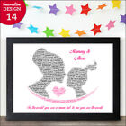 PERSONALISED Mummy Mum and Daughter Mothers Day Gifts To The World You Are A Mum