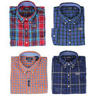 NWT Chaps by Ralph Lauren Men's Easy Care Long Sleeve Classic Plaid Woven Shirt