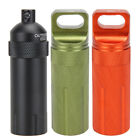 EDC Survival Waterproof Medicine Pill Case Box Container Hiking Emergency Gears