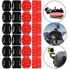 8/12PCS Mount Flat Curved Adhesive Helmet Accessories For Gopro Hero 3 4 5