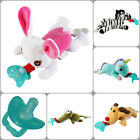 1Pc Animal Baby Infant Nipple Infant Silicone Pacifiers with Cuddly Plush Toys