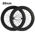 88mm Tubular Clincher Carbon Wheels Standard Wheel Novatec 271/371 Hub Wheelset