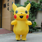 New Adult Large Mascot Pikachu Inflatable Costume Cosplay US SELLER Funny Dress~