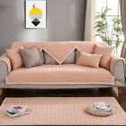 Solid Color Slipcover Sofa Couch Chair Seat Cover Living Room Home Decor Chinos