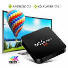 MXQ PRO 4k S905W Quad Core Android 7.1 HD Smart TV Box 3D WiFi KODI 17.6