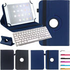 For Insignia Flex 10.1 Tablet Bluetooth Keyboard Universal 360 Rotate Cover Case