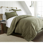 sage green bedding - Sage Green Comforter Bed Set 8 Pc Ultra Soft Hypoallergenic Antimicrobial