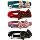 Ancol Cat / Kitten Luxury Vintage Bow Collar With Safety Buckle & Warning Bell