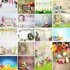 US STOCK Easter Vinyl Photography Backdrop Custom Newborn Baby Photo Props 3x5ft
