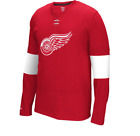 NHL Reebok Detroit Red Wings Faceoff Hockey Jersey New Mens LARGE $45 $19.99 USD on eBay