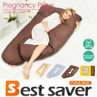 Pregnancy Pillow U Shaped Full Body Support Belly Maternity Pillow Oversized