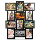 12 Pictures Multiple Family Photo Collage Frames Hanging Wall Decor Album Set